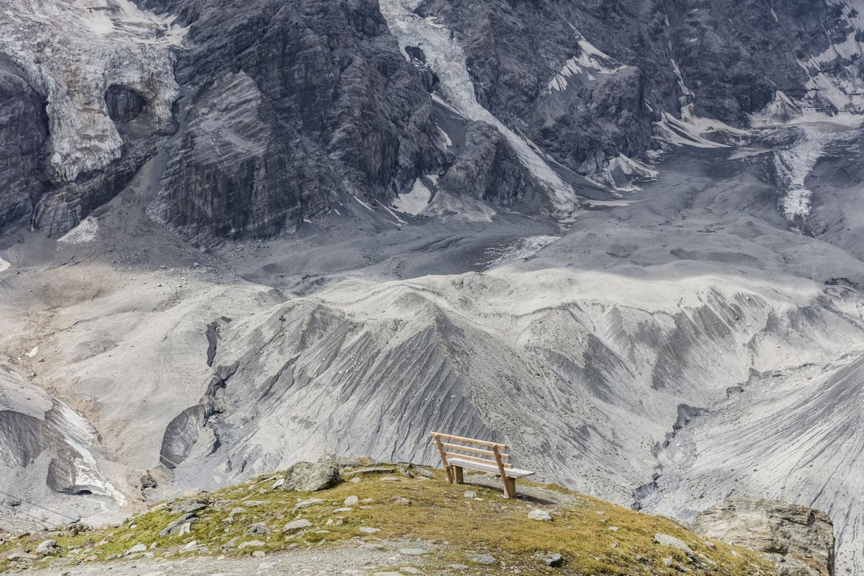 Solda Glacier Trail Solda Venosta Valley South Tyrol Hiking