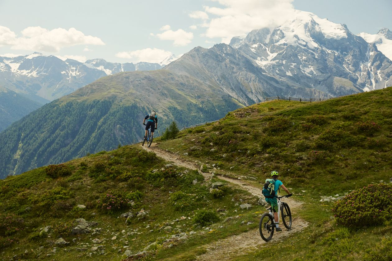 Trada Tour mountainbike tour Venosta Valley South Tyrol bike tour