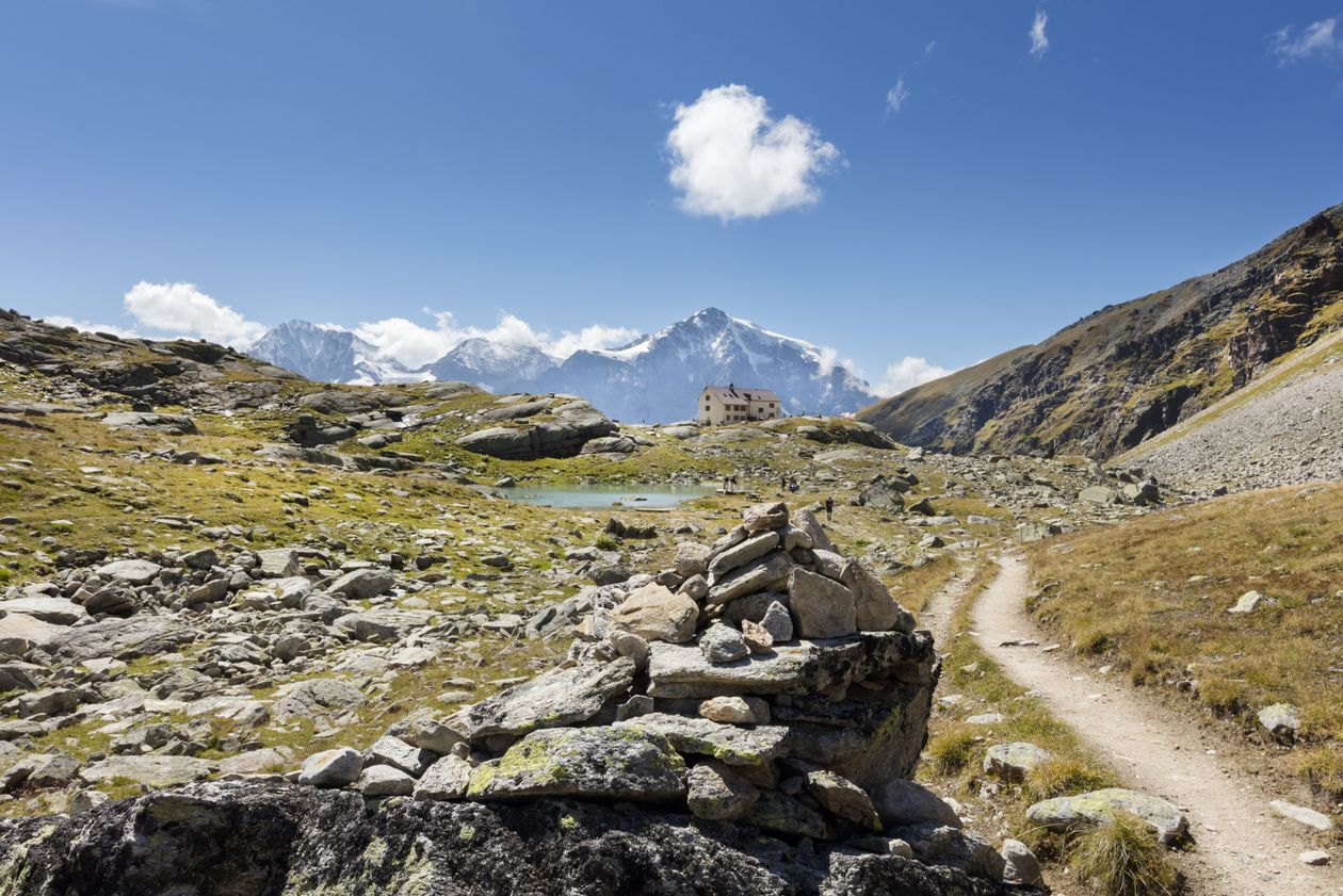 "Hike ""Rifugio Serristori"" Solda Venosta Valley South Tyrol Hiking"