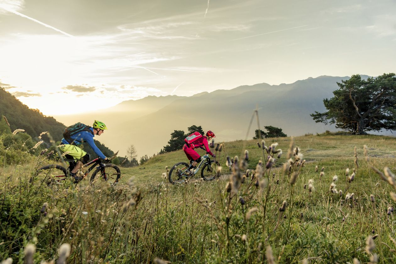 Bike tour Passo Madriccio Venosta Valley South Tyrol bike tour